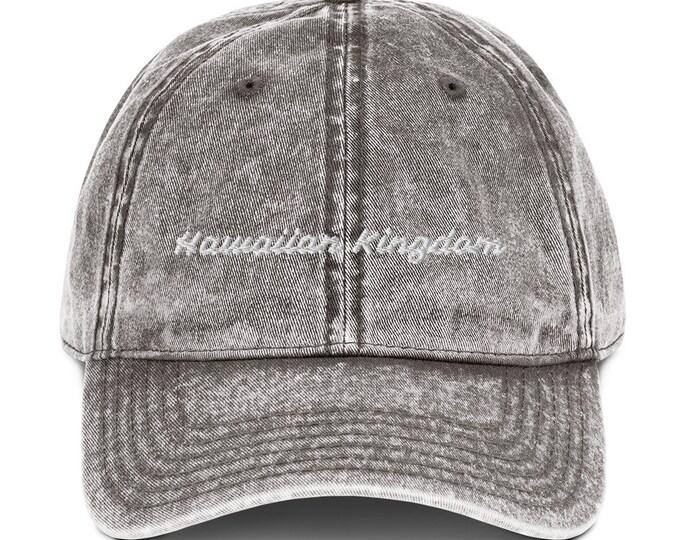 Vintage Style Hawaiian Kingdom Hat