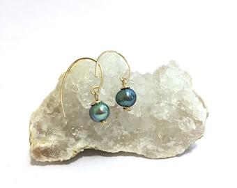 Mini Freshwater Pearl Earrings