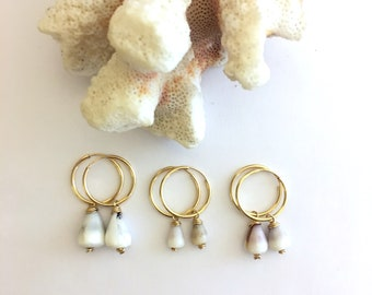 Cone Shell Earrings - READY TO SHIP