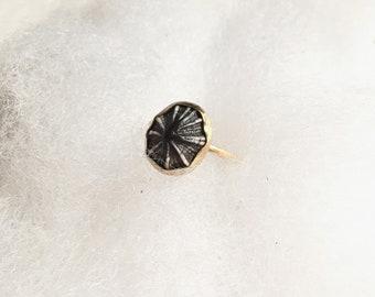 Gold Opihi Ring