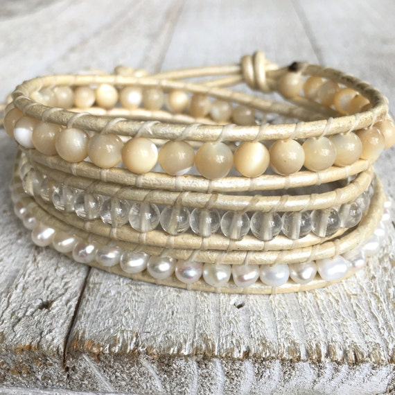 MOTHER OF PEARL Mix Bracelet