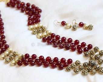 Jadau Necklace,  Indian Necklace, wedding, Bollywood Necklace, Kundan Necklace, Indian Bridal Jewelry