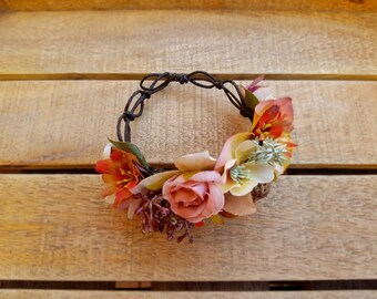 Bracelet for women - Flower fashion accessories - Handmade bracelets - ChicaChic - Perfect gift for her