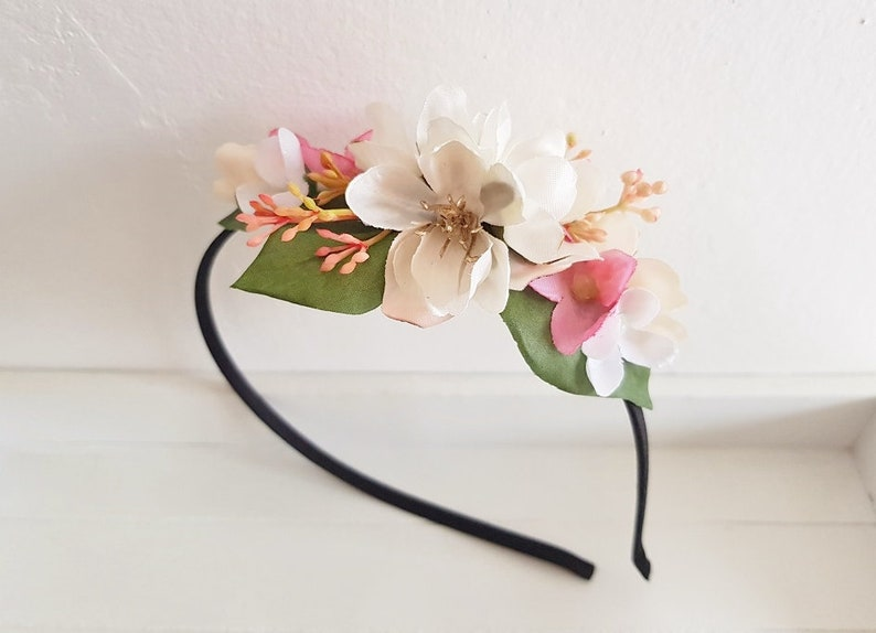 Headband Festival Flowers Crown Blossoms Hair Accessories Many Colours Girls' Accessories Hair Accessories