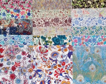 Liberty London 30 piece 5inch Scrap Assorted Pack