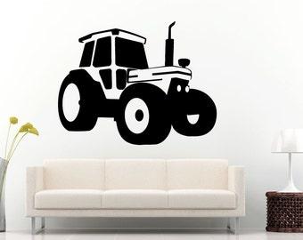 Traktor Wand Schablone Etsy