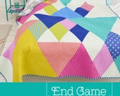 End Game Quilt Pattern by Tied With A Ribbon