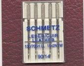 Schmetz Leather Needles 90/14