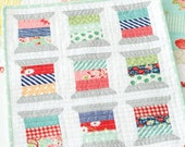 Spools Mini Quilt Pattern by Camille Roskelley of Thimble Blossoms