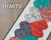 Let's Play Hearts Table Runner Pattern by Atkinson Designs