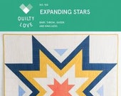 Expanding Stars Pattern by Quilty Love