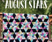 August Stars Quilt Pattern by Jaybird Quilts