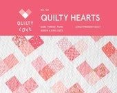 Quilty Hearts Pattern by Quilty Love