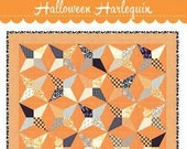 Halloween Harlequin Quilt Pattern by Fig Tree Quilts