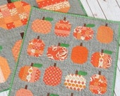 Mini Pumpkins Quilts Pattern by Cluck Cluck Sew