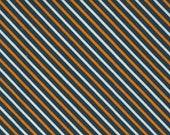 Holiday Halloween Midnight Stripes - Holiday Essentials Halloween by Stacy Iest Hsu for Moda Fabrics