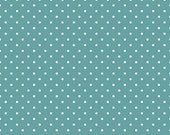 Swiss Dot Teal by Riley Blake Designs