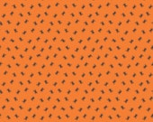 Happy Haunting Orange Spiders by Deena Rutter for Riley Blake Designs