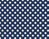 Small Dots Navy by Riley Blake Designs