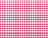 Small Gingham Hot Pink by Riley Blake Designs