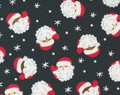 Holiday Christmas Coal Santas - Holiday Essentials Halloween by Stacy Iest Hsu for Moda Fabrics