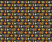 Ghouls and Goodies Trick or Treat in Multi by Doodlebug Designs for Riley Blake