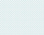 Aqua Kisses on White by Doodlebug Design for Riley Blake