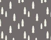 Wild At Heart Trees in Gray by Lori Whitlock for Riley Blake Designs