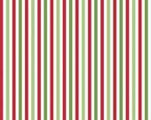 Christmas Stripe 1/8th Inch by Riley Blake