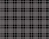 Wild At Heart Plaid in Gray by Lori Whitlock for Riley Blake Designs