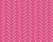 Fleur Bias Lines in Dark Pink by Sedef Imer for Riley Blake Designs