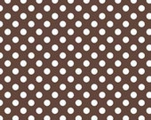 Small Dot Brown by Riley Blake Designs