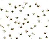 Beautiful Day Bees in White by Echo Park Paper Co for Riley Blake Designs