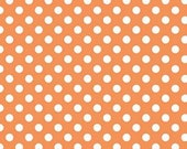 Small Dot Orange by Riley Blake Designs