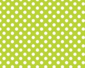 Small Dot Lime by Riley Blake Designs