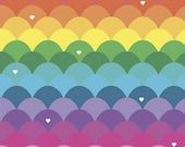 Dream Main Rainbow by Kristy Lea of Quiet Play for Riley Blake Designs