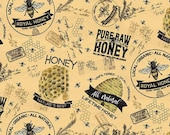 Bee's Life Main in Honey by Tara Reed for Riley Blake Designs