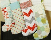 Merry Stockings Pattern by Camille Roskelley of Thimble Blossoms