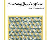 Tumbling Blocks Weave Pattern PLUS WEFTY Needle