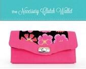 Necessary Clutch Wallet Pattern by Emmaline Bags