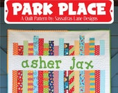 Park Place Quilt Pattern by Sassafras Lane Designs