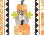 Pumpkin Trio Mini Quilt Pattern by Fig Tree Quilts