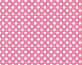 Pink and White Small Dots by Riley Blake Designs
