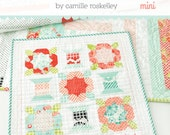 Handmade Mini Quilt Pattern by Camille Roskelley Thimble Blossoms