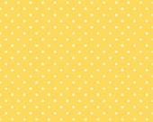 Swiss Dot Yellow by Riley Blake Designs
