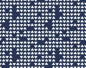By Popular Demand Triangles in Navy by Simple Simon & Co. for Riley Blake Designs