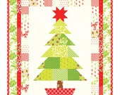 Oh Christmas Tree Mini Quilt Pattern by Fig Tree Quilts