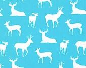 HOME DECOR Aqua and White Deer by Premier Prints