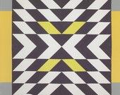 Modern X Quilt Pattern by Christa Quilts