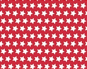 Red and White Star Basics by Riley Blake Designs